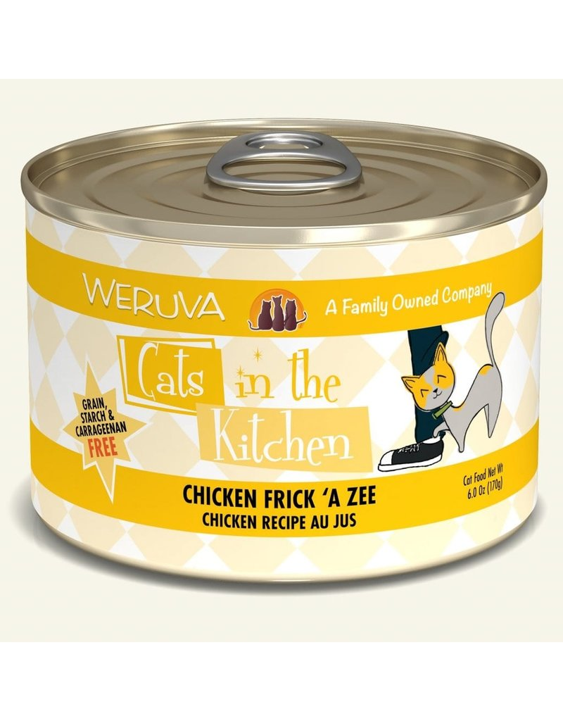 Weruva Weruva CITK Canned Cat Food CASE Chicken Frick 'A Zee 6 oz