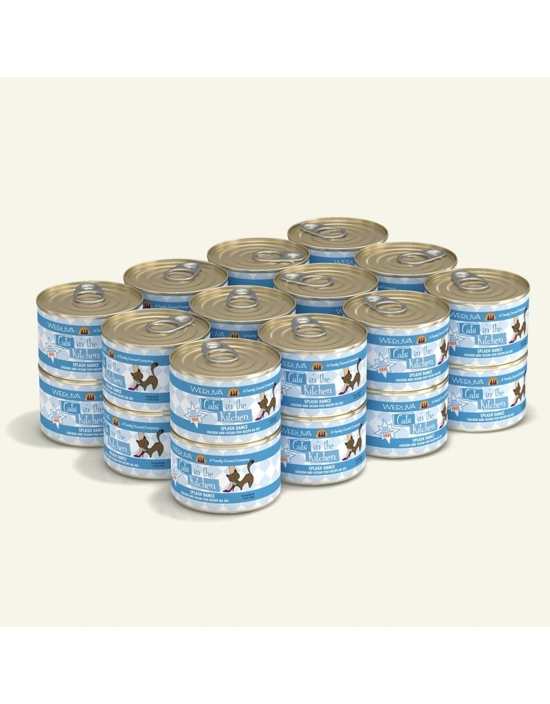 Weruva Weruva CITK Canned Cat Food | CASE Splash Dance 6 oz