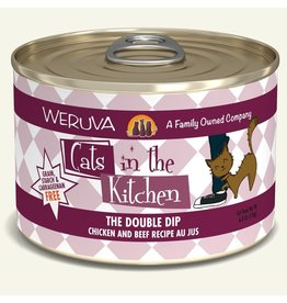 Weruva Weruva CITK Canned Cat Food Double Dip 6 oz single