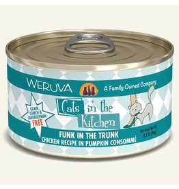 Weruva Weruva CITK Canned Cat Food Funk in the Trunk 3.2 oz single