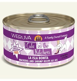 Weruva Weruva CITK Canned Cat Food La Isla Bonita 3.2 oz single