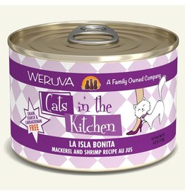 Weruva Weruva CITK Canned Cat Food La Isla Bonita 6 oz single