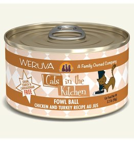 Weruva Weruva CITK Canned Cat Food | Fowl Ball 3.2 oz single