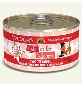 Weruva Weruva CITK Canned Cat Food Two Tu Tango 3.2 oz single