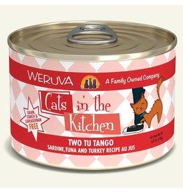 Weruva Weruva CITK Canned Cat Food Two Tu Tango 6 oz single