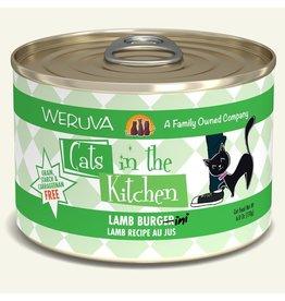 Weruva Weruva CITK Canned Cat Food Lamb Burgini 3.2 oz single
