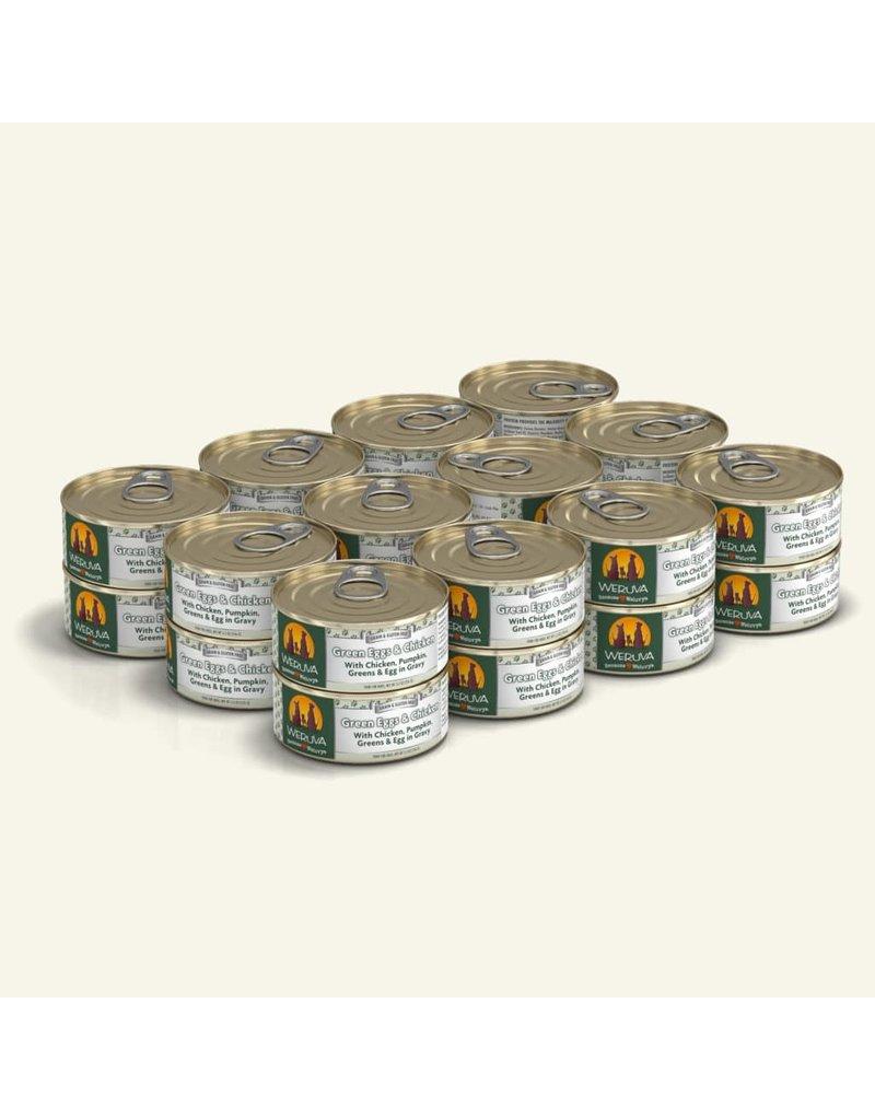 Weruva Weruva Original Canned Dog Food CASE Green Eggs & Chicken 5.5 oz