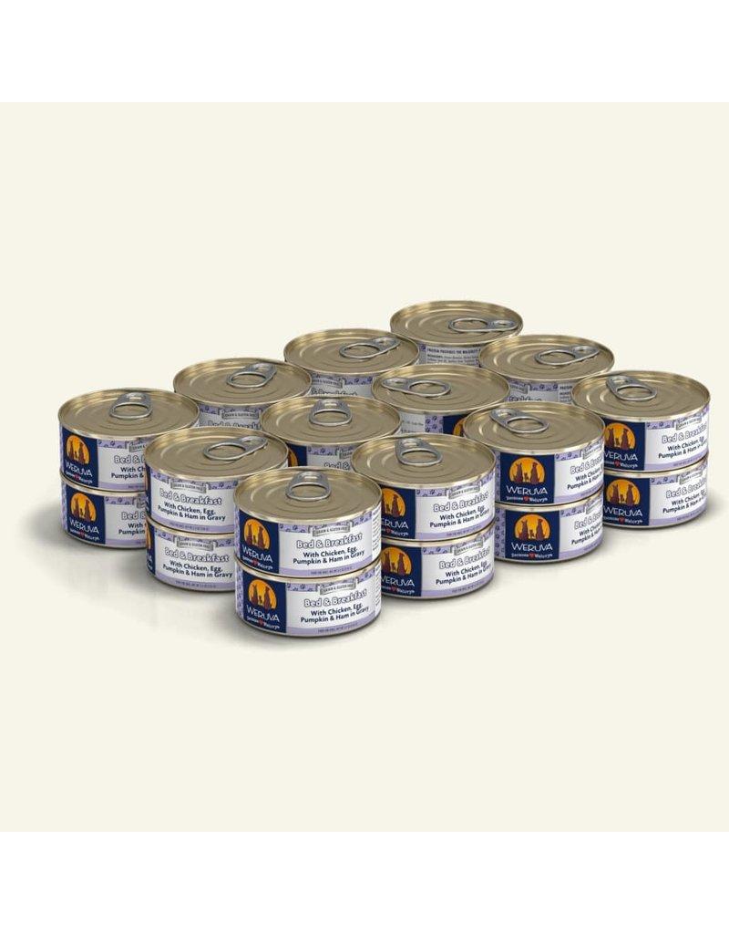 Weruva Weruva Original Canned Dog Food CASE Bed & Breakfast 5.5 oz