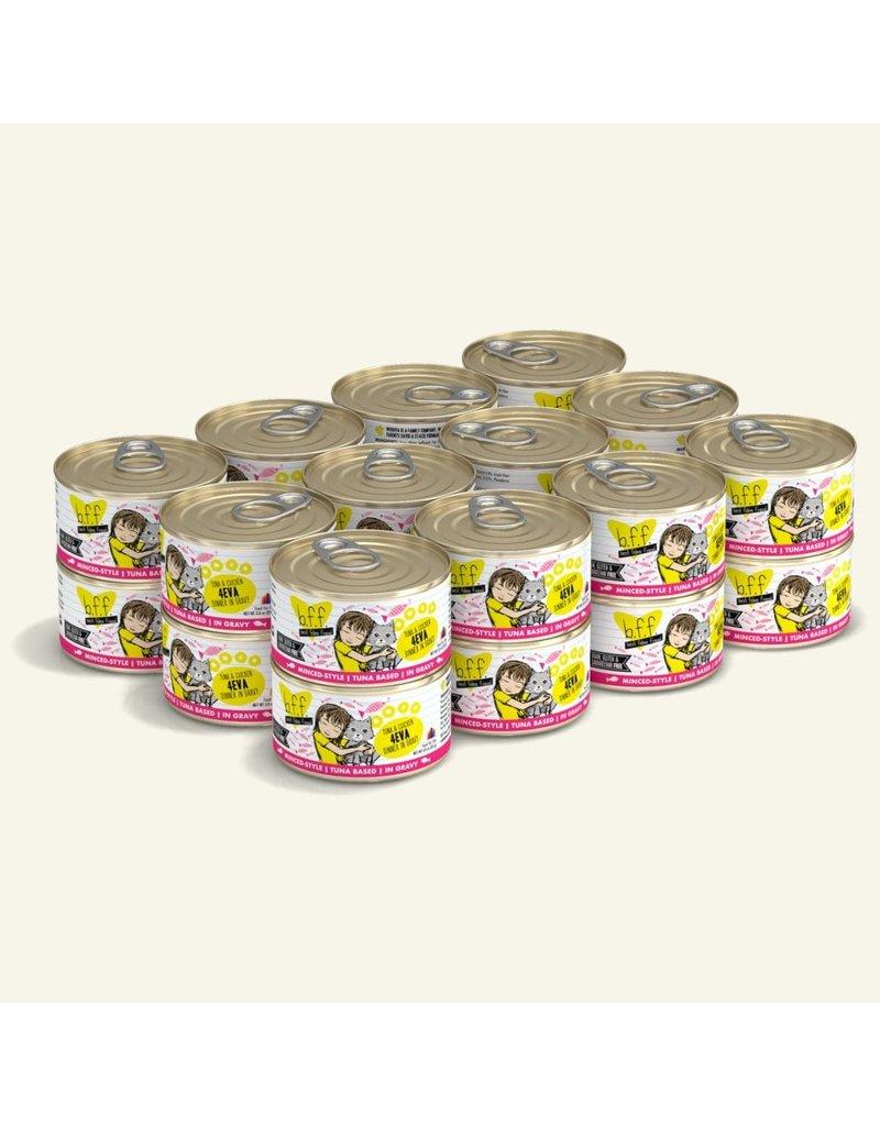 Weruva Best Feline Friend Canned Cat Food CASE Tuna & Chicken 4Eva 3 oz