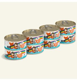 Weruva BFF OMG! Canned Cat Food CASE Crazy 4 U! 5.5 oz