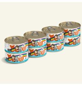 Weruva Weruva BFF OMG! Canned Cat Food | Chicken & Salmon Crazy 4 U! 5.5 oz CASE
