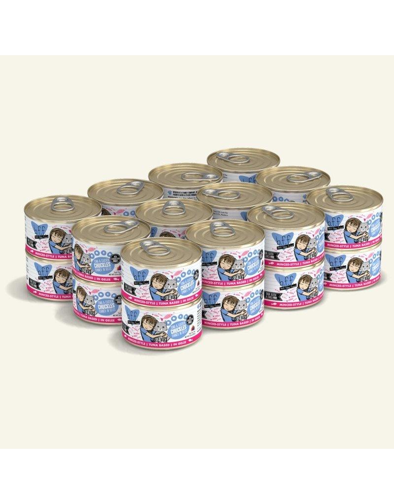 Weruva Best Feline Friend Canned Cat Food Tuna & Chicken Chuckles 3 oz single