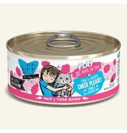 Weruva Weruva BFF PLAY Tuna Based Pate | Tuna & Chicken Check Please Dinner in Puree 5.5 oz
