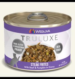 Weruva Weruva TruLuxe Canned Cat Food Steak Frites 6 oz single
