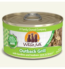Weruva Weruva Classics Canned Cat Food | Outback Grill 3 oz