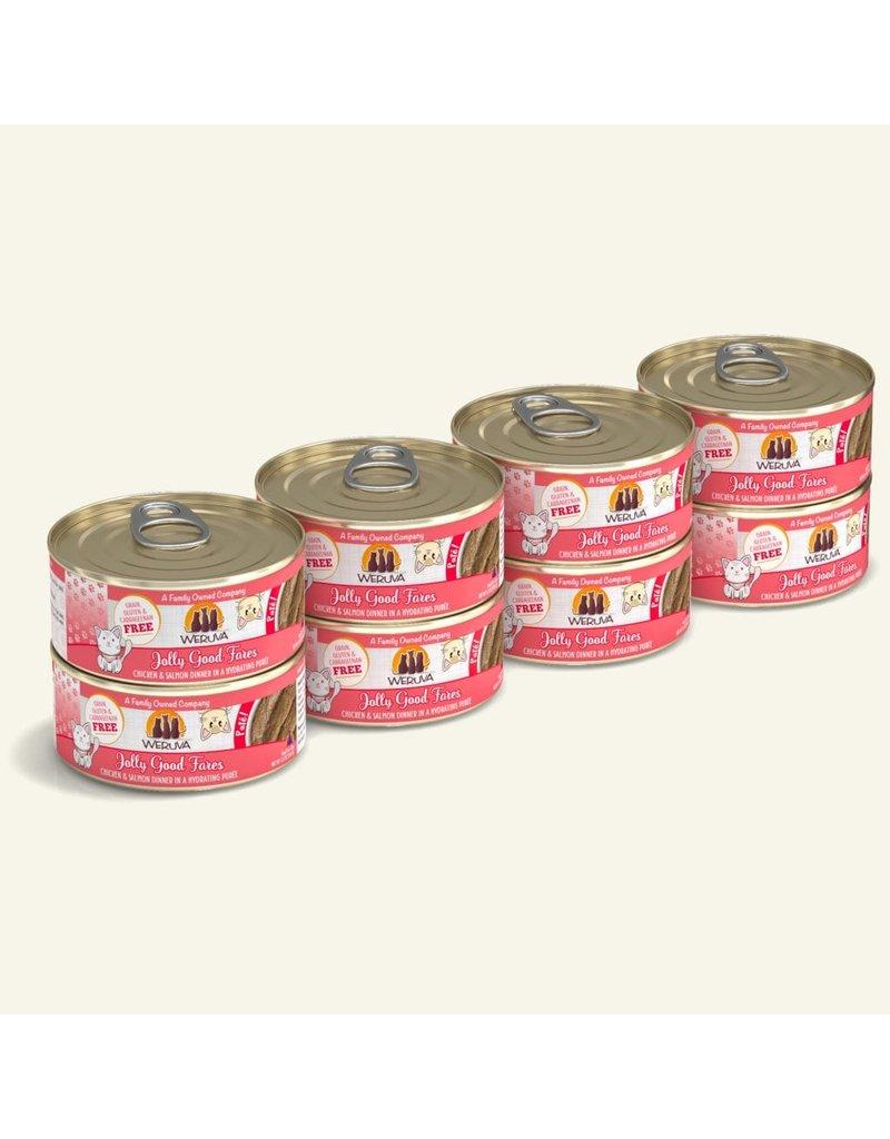 Weruva Weruva Pates Canned Cat Food CASE Jolly Good Fares 5.5 oz