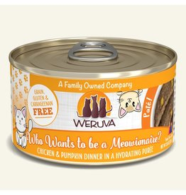 Weruva Weruva Pates Canned Cat Food Who Wants to Be a Meowionaire? 3 oz single