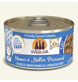 Weruva Weruva Pates Canned Cat Food Meows n' Holler PurrAmid 3 oz single
