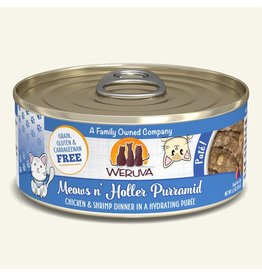 Weruva Weruva Pates Canned Cat Food Meows n' Holler PurrAmid 5.5 oz single