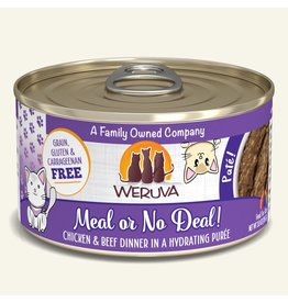 Weruva Weruva Pates Canned Cat Food Meal or No Deal! 3 oz single