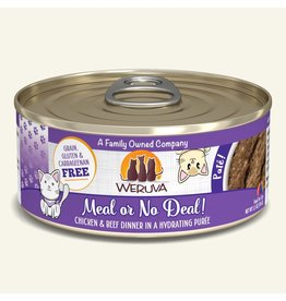 Weruva Weruva Cat Pates Canned Cat Food Meal or No Deal! 5.5 oz single