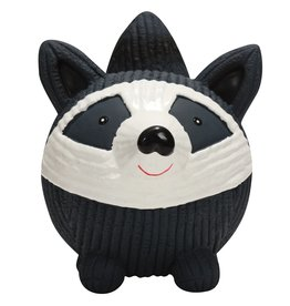 HuggleHounds HuggleHounds Ruff-Tex Raccoon Ball Large