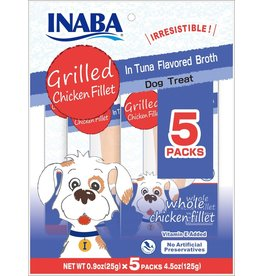 Inaba Inaba Chicken Fillet Dog Treats | Chicken in Tuna Broth