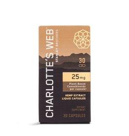 Charlotte's Web Charlotte's Web | 25 mg CBD Oil Liquid Capsules 30 ct