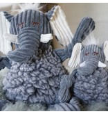 HuggleHounds HuggleHounds FlufferKnottie Dog Toys | Ellamae the Elephant Large
