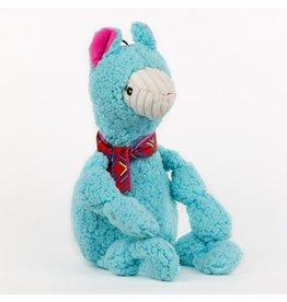 HuggleHounds HuggleHounds Wild Things Knottie Dog Toys | Llama Small