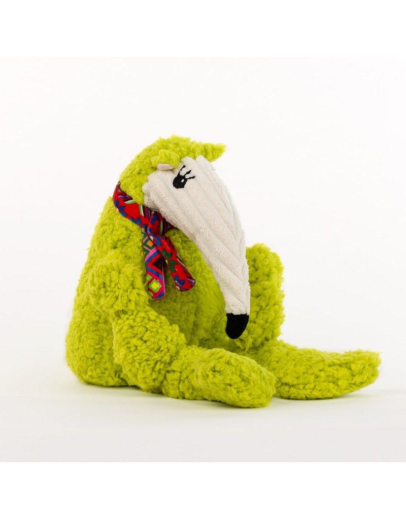 HuggleHounds HuggleHounds Wild Things Knottie Dog Toys | Ant Eater Large