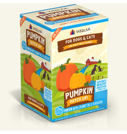 Weruva Weruva Pumpkin Patch Up! Pouch | Pumpkin w/ Coconut Oil & Flaxseeds 1.05 oz CASE