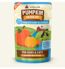 Weruva Weruva Pumpkin Patch Up! Pouch | Pumpkin w/ Coconut Oil & Flaxseeds 2.8 oz CASE