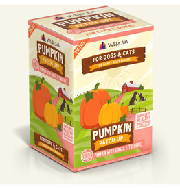 Weruva Weruva Pumpkin Patch Up! Pouch | Pumpkin w/ Ginger & Tumeric 1.05 oz CASE