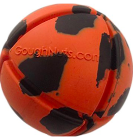 Goughnuts Goughnuts Original Ball Dog Toys | Orange 40-70 lbs