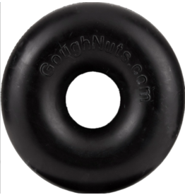 Goughnuts Goughnuts 0.75 Ring Dog Toys | Black 10-40 lbs