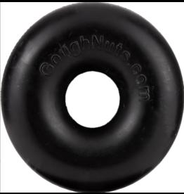 Goughnuts Goughnuts 0.75 Ring Dog Toys | Black 10-40 lbs