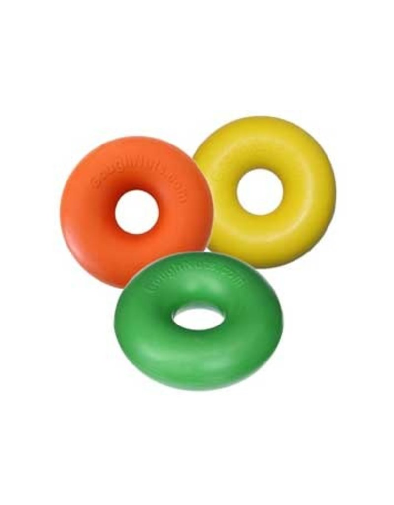 Goughnuts Goughnuts Pro 50 Ring Dog Toys | Original Black 40-70 lbs