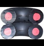 Goughnuts Goughnuts Pro 50 Ring Dog Toys | Maxx Black 70 lbs +
