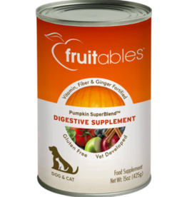 Fruitables Fruitables Canned Supplement Pumpkin Digestive 15 oz single