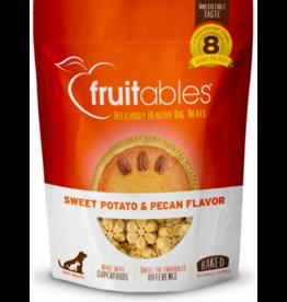 Fruitables Fruitables Crunchy Dog Treats Sweet Potato & Pecan 7 oz