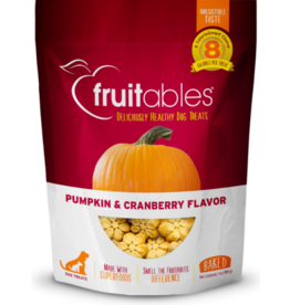 Fruitables Fruitables Crunchy Dog Treats Pumpkin & Cranberry 7 oz