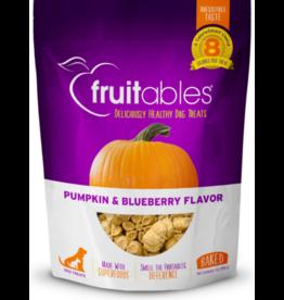 Fruitables Fruitables Crunchy Dog Treats Pumpkin & Blueberry 7 oz