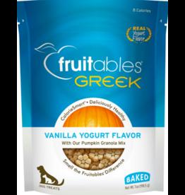 Fruitables Fruitables Crunchy Dog Treats Greek Vanilla Yogurt 7 oz