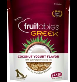 Fruitables Fruitables Crunchy Dog Treats Greek Coconut Yogurt 7 oz