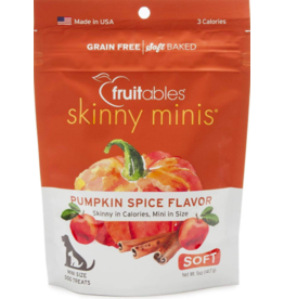 Fruitables Fruitables Skinny Minis Soft Dog Holiday Treats Pumpkin Spice 5 oz