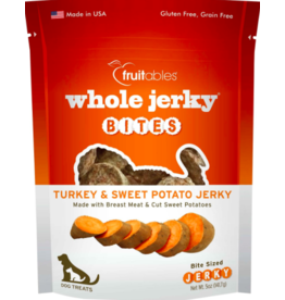 Fruitables Fruitables Dog Jerky Treats Bites Turkey & Sweet Potato 5 oz