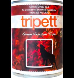 Tripett Tripett Canned Dog Food Venison Green Tripe 13 oz single