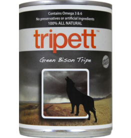 Tripett Tripett Canned Dog Food Bison Green Tripe 13 oz single