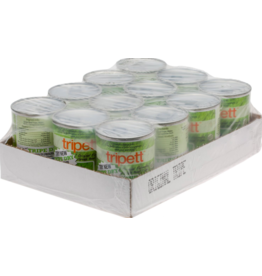 Tripett Tripett Canned Dog Food CASE Beef Green Tripe 13 oz